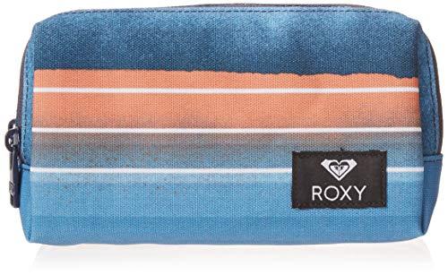 Roxy Women's Pipeline Pencil Case Pouch, air blue spray Stripe, One Size
