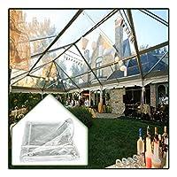 クリアプラントターポリン、 透明なPVCガラスシースルータープ 窓断熱フィルム 冬の寝室防風暖かい 多目的カバー (Color : Clear, Size : 1.5X2.5M)