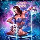 Diy 5D Kit De Pintura De Diamantes Doce Constelaciones Bordado De Acuario Punto De Cruz Decoración Del Hogar Regalo De Cumpleaños Arte 30X40Cm