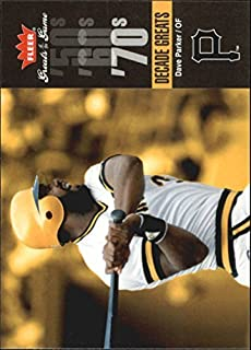 2006 Greats of the Game Decade Greats #DP Dave Parker MLB Baseball Trading Card