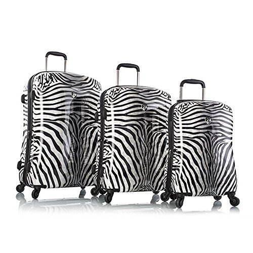 Heys - Juego de maletas multicolor Zebra Equus