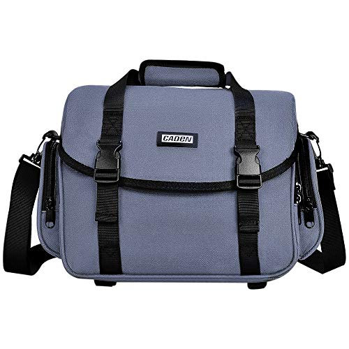 CADeN Camera Bag Case Shoulder Messenger Bag with Tripod Holder Compatible for Nikon, Canon, Sony,...