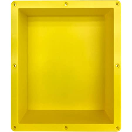 Shower Wall DIY Recess Insert Waterproof Heat Resistant for Bathroom Storage