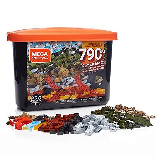 Mega Construx GJD26 - Probuilders Bausteinebox, mit 790 Teilen, Grosse Bausteine Box für Fortgeschrittene, Spielzeug ab 8 Jahren