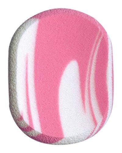 Titania Maquillage éponge ovale Env. 7 x 5,5 cm, (1 cm d'épaisseur), sur carte blister, pack de 1 (1 x 15 g)
