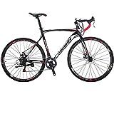 Eurobike Road Bikes 700C Wheels 54cm Frame Racing Bicycle