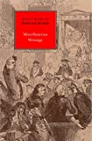 Miscellaneous Writings: Select Works of Edmund Burke