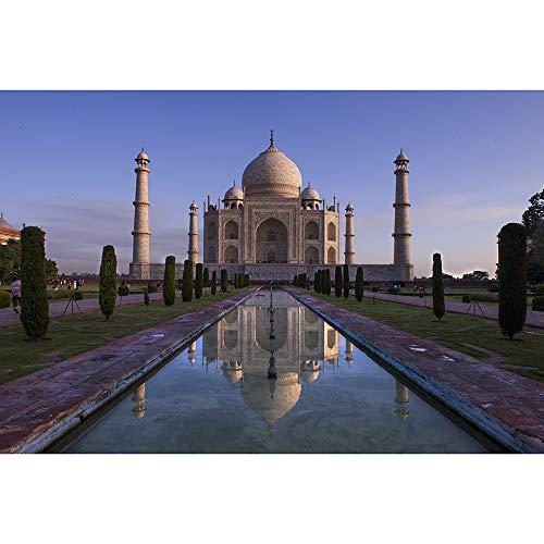 Puzzles Indien Taj Mahal Landschaft Freizeit Unterhaltung Dekomprimierung Spiel Spielzeug, 500/1000/1500/2000/3000/4000/5000/6000 Pieces 0526 (Size : 1500 Pieces)