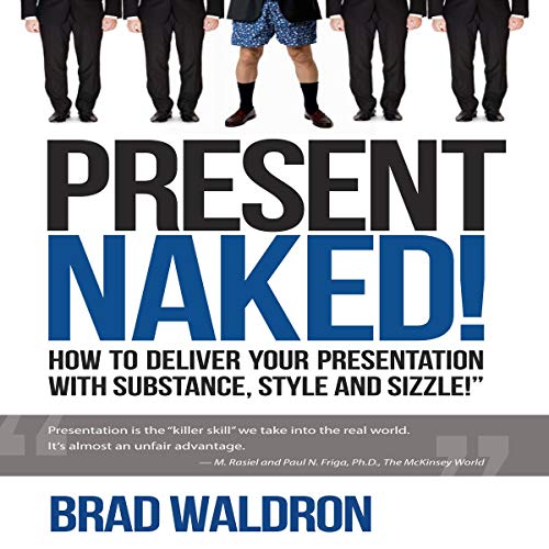 Present Naked! audiobook cover art
