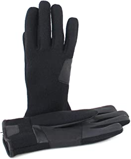 UGG Mens Fabric And Leather Glove