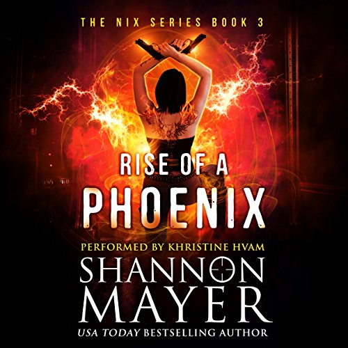 Rise of a Phoenix audiobook cover art