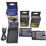 str 残量表示可能 パナソニック Panasonic DMW-BLF19 互換バッテリー2個 と充電器USBチャージャー DMW-BTC10 DMW-BTC13 セット LUMIX ルミックス DMC-GH3 DMC-GH3A DMC-GH3H DMC-GH4 DMC-GH4 DC-GH5 DC-GH5s DC-G9 DC-GH5-K DC-GH5M-K DMW-BGGH3 DMW-BGGH5