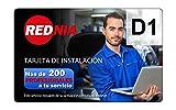 Rednia D1 - Tarjeta de instalación auto radio básico 1 DIN