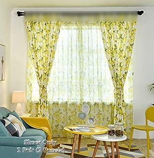 Best lemon curtains next Reviews