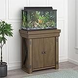 Flipper Wildwood 20 Gallon Aquarium Stand, Rustic Gray