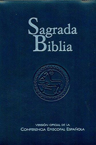 Sagrada Biblia version oficial de la cee (estuche): Versión oficial d