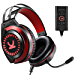 VANKYO Gaming Headset CM7000 with Authentic 7.1 Surround Sound Stereo PS4 Headset, Gaming Headphones with Noise Canceling Mic & Memory Foam Ear Pads for PC, PS4, Xbox One, Gamecube, Nintendo Switch (Renewed)
