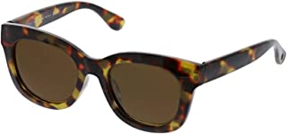 Peepers Women's Center Stage Polarized Round Sunglasses