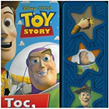 LIBRO MUSICAL 3 BOTONES TOY STORY 3B STAR: TOC, TOC, TOC