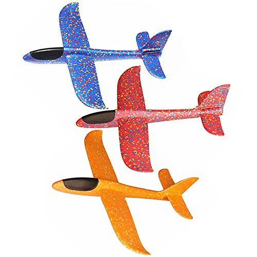 Skitic Juego de Accesorios de Juguete con Diseño de Aviones voladores DE 48 cm para Fiestas y Fiestas de Niños
