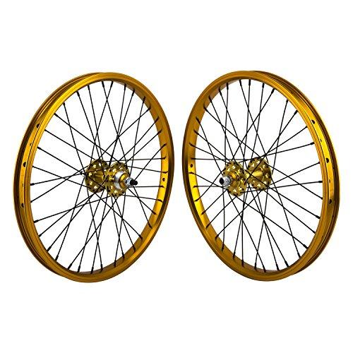 gold rims bmx - 5