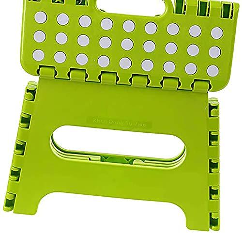 JHSHENGSHI sillas Plegables al Aire Libre, Silla Plegable pequeña de 1 Pieza, sillas de Comedor de jardín al Aire Libre, fáciles de Llevar, sillas Plegables para Acampar