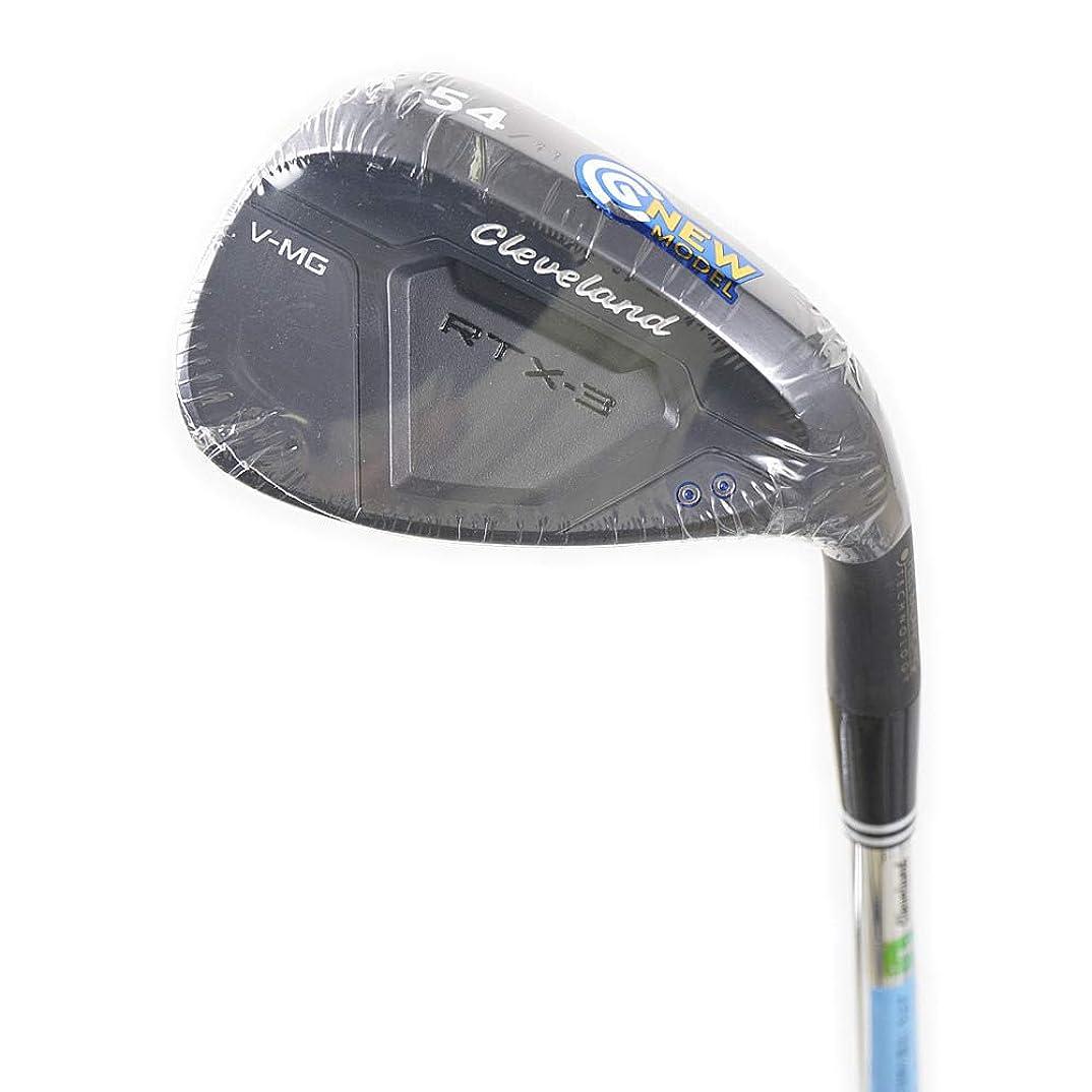出発ポスト印象派基本的なCleveland GOLF(クリーブランドゴルフ) サンドウェッジ RTX-3 CAVITY BACK ウエッジ ブラックサテン仕上げ 58-09 ダイナミックゴールドシャフト S200   ロフト角:58度