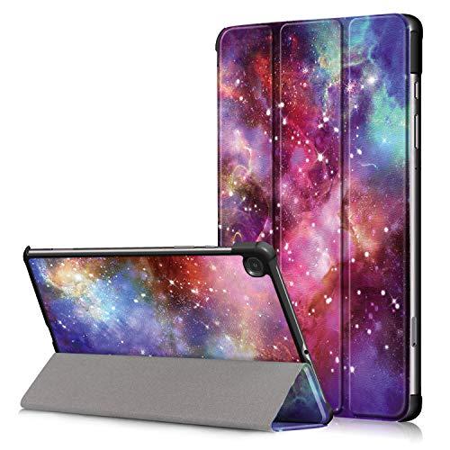 Funda Galaxy Tab S6 Lite 10,4 Pulgadas 2020, FANSONG Funda Protectora de Piel magnética Ultrafina de Tres Pliegues con Soporte para Samsung Galaxy Tab S6 Lite SM-P610 Sm-P615