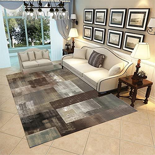 alfombras de pasillo alfombras exterior jardin Alfombra de dormitorio gris Cómodo de la cama de la cama de la cama de la cabina resistente a las manchas rectangulares alfombras dormitorio matrimonio 1