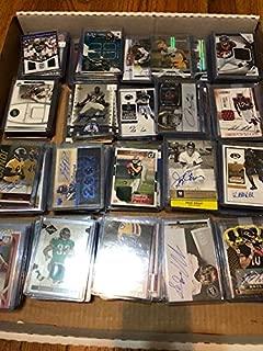Football Card Mystery Box Guaranteed 1 Auto or Game-Used Card Per Box