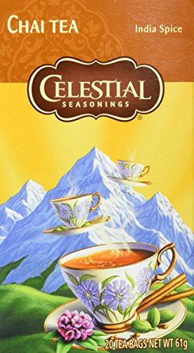 Celestial Seasonings Original India Spice Chai, 6er Pack (6 x 61 g)