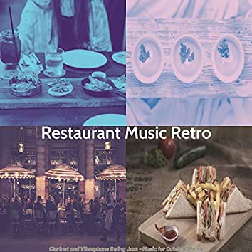 Clarinet and Vibraphone Swing Jazz - Music for Outdoor Dining
