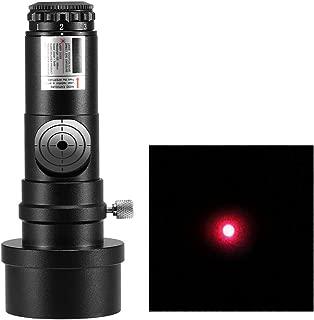 V BESTLIFE Calibrador de Ocular Laser 1.25 Pulgadas Colimador L/áser Adaptador de 2 Pulgadas 7 Niveles Brillantes para Telescopios Newtonianos