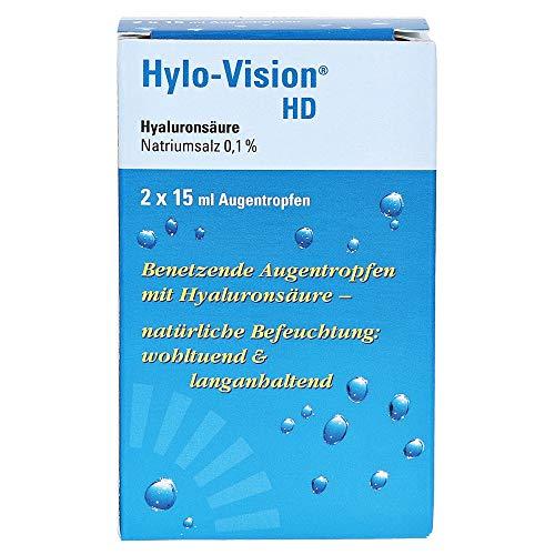 Hylo-Vision HD Augentropfen, 2x15 ml Lösung