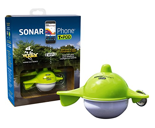 Vexilar SP100 SonarPhone with Transducer Pod