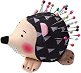 GBSTORE Hedgehog Shape Pin Cushion Soft Fabric Pin Cushion Women Sewing Craft Tools for Handmade Sewing Accessories or DIY Crafts
