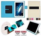 reboon Hülle für Odys Space 10 Plus 3G Tasche Cover Case Bumper | in Beige | Testsieger