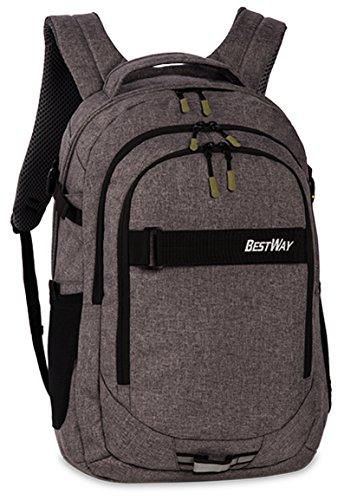Schoolrugzak rugzak schooltas voor school universiteit met laptopvak tas modern design