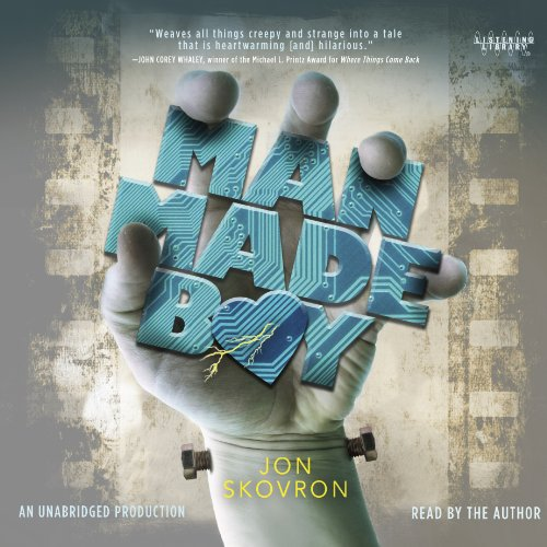 Man Made Boy audiobook cover art