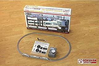 Rokuhan Tobu Limited Express 500 Type Powered 3-Car Starter Set, Revaty Aizu G006-1