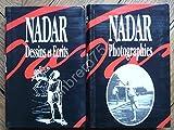 DESSINS ET ECRITS. PHOTOGRAPHIES. NADAR. 2 VOLUMES BOOKING