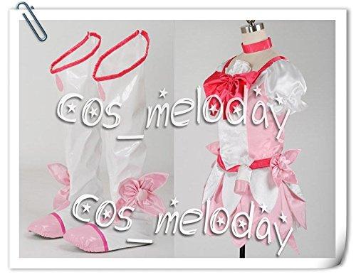 『【女性Sサイズ】★全品5日に発送★ハートキャッチプリキュア キュアブロッサム 風 コスプレ衣装 【cos_vivilee】』の2枚目の画像