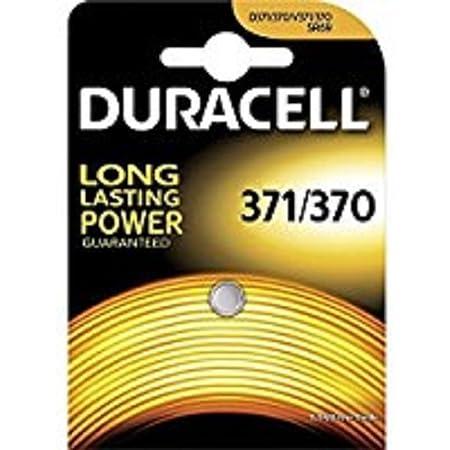 """DURACELL Pile spéciale montres""""Watch"""" 371/370 (SR69)"""