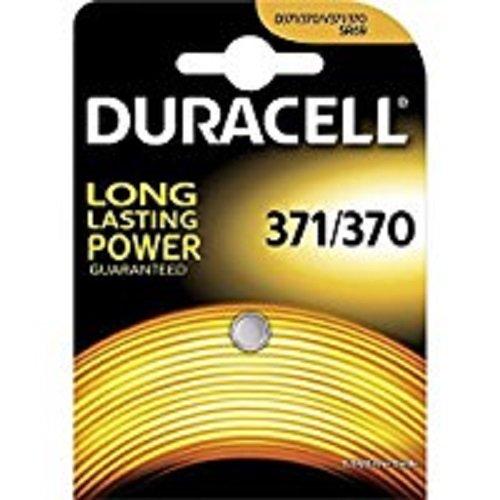 Duracell Watch Uhrenbatterie 371/370 SR920SW 280-31 1.55V, Silberoxid
