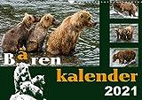 Bärenkalender (Wandkalender 2021 DIN A3 quer)