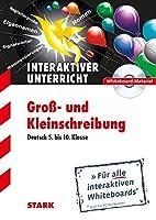 """Deutsch """"Gross- und Kleinschreibung"""" CD-ROM Whiteboard-Anwendung: Fuer alle interaktiven Whiteboards (auch fuer PC mit Beamer)"""
