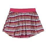 KicKee Pants Print Swing Skort (XS-5/6, Botany Red Ginger Stripe)