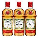 Tanqueray Flor de Sevilla, 3er, Destillierter Gin, Alkohol, Alkoholgetränk, Flasche, 41.3%, 700 ml, 753383