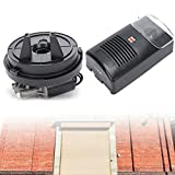 Auto Garage Roller Door Opener,Power Electric Rolling Shutter Roller Remote Door Opener Built-in Motor Garage Roller Pulling Force Automatic Shutter Door Remote 110V 16.4ft 250N