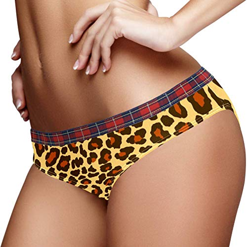 TIZORAX Panter Luipaard Jaguar Wild Jaguar Patroon Vrouwen Ondergoed Bikini Mode Dames Korte Broeken